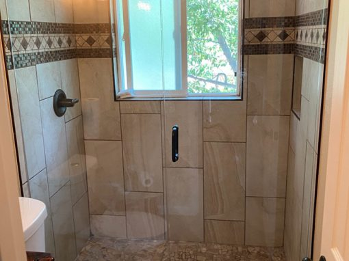 Shower Remodel with Window